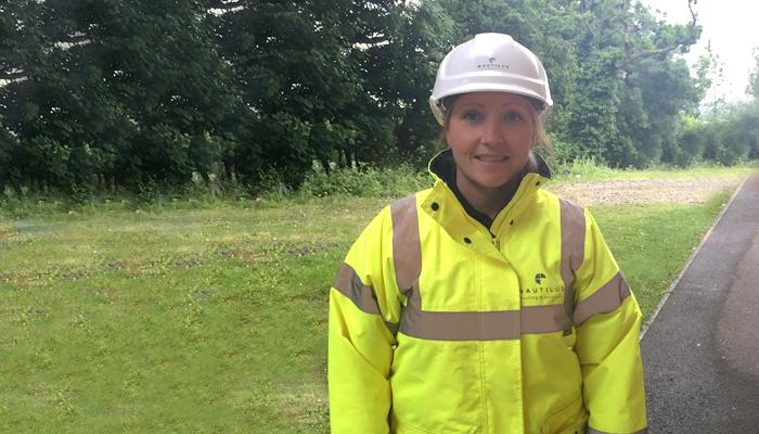 full-time HSEQ Manager, Helen Jenkins