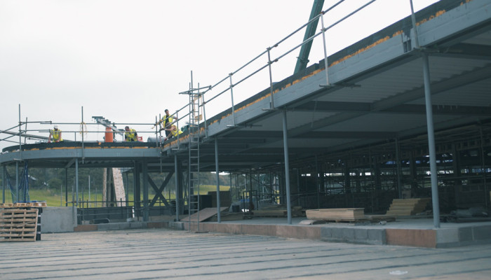 Atlantic College Construction